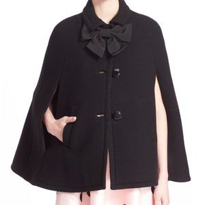 Kate Spade Bow Cape Coat
